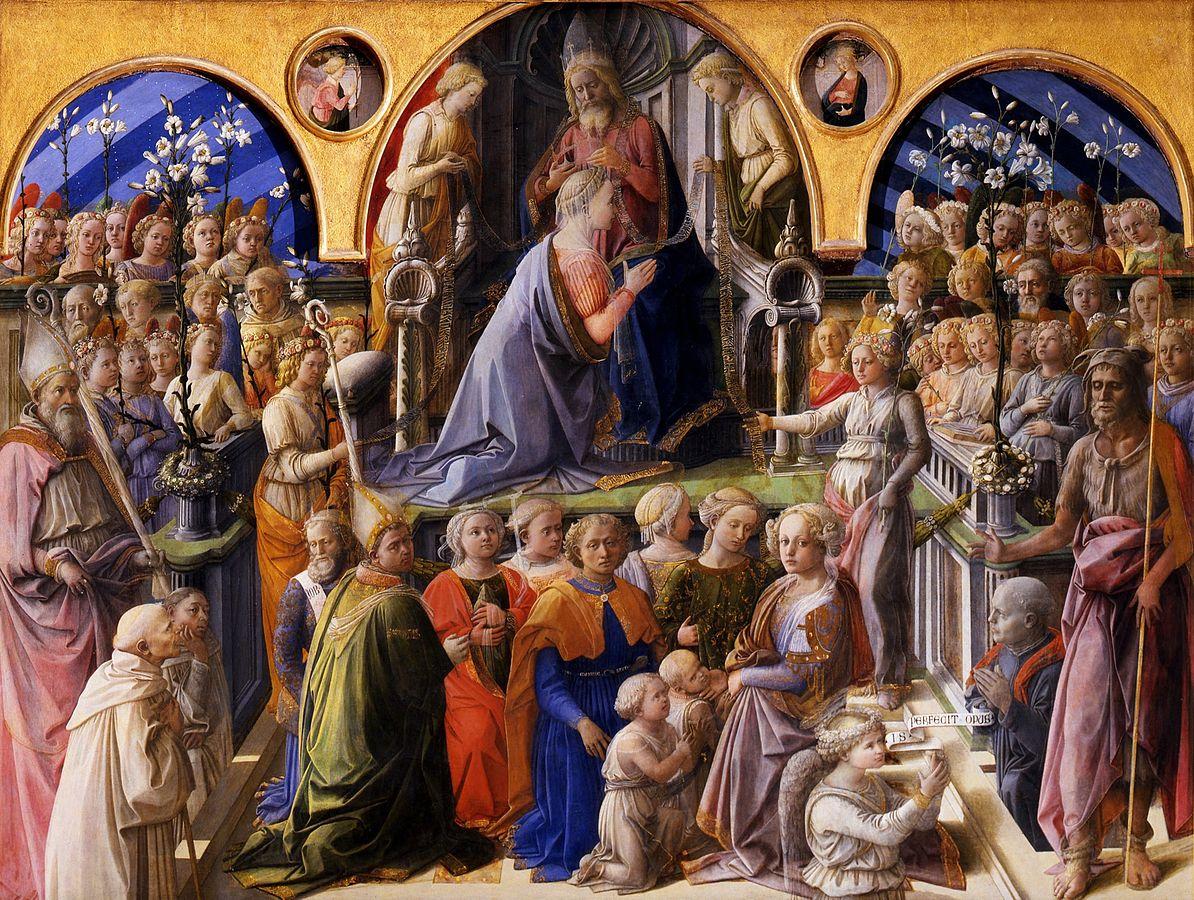 画像_フラ・フィリッポ・リッピ「聖母戴冠」
