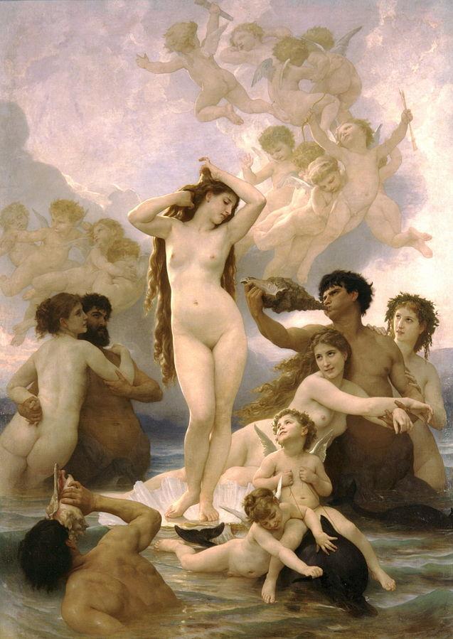 画像_ウィリアム・アドルフ・ブーグロー「ヴィーナスの誕生」