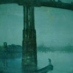 青と金のノクターン – オールド・バターシ―・ブリッジ