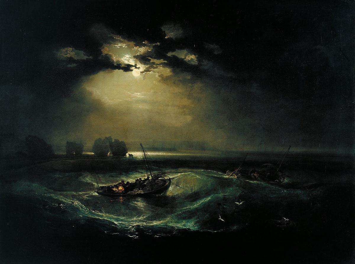 画像_ジョゼフ・マロード・ウィリアム・ターナー「海の漁師たち」