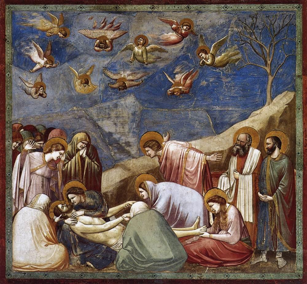 画像_ジョット・ディ・ボンドーネ「キリストへの哀悼」