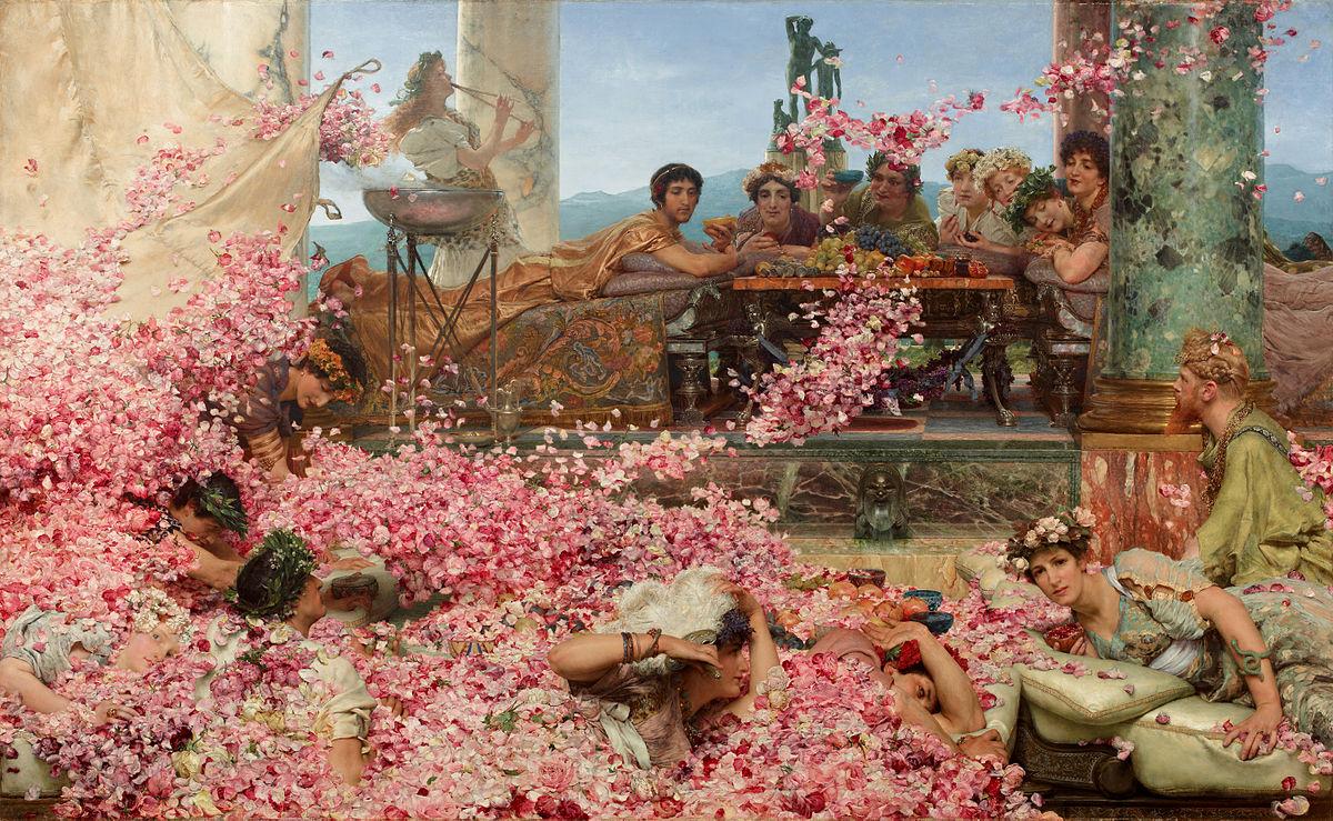 画像_ローレンス・アルマ=タデマ「ヘリオガバルスの薔薇」