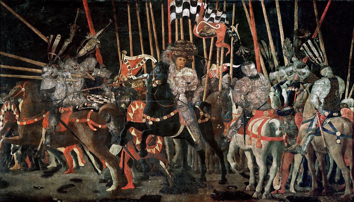 画像_サン・ロマーノの戦い(ルーブル美術館蔵)