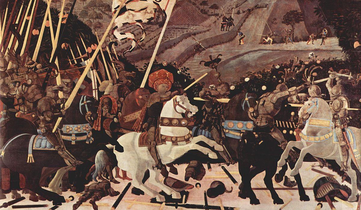 画像_サン・ロマーノの戦い(ロンドン・ナショナル・ギャラリー蔵)