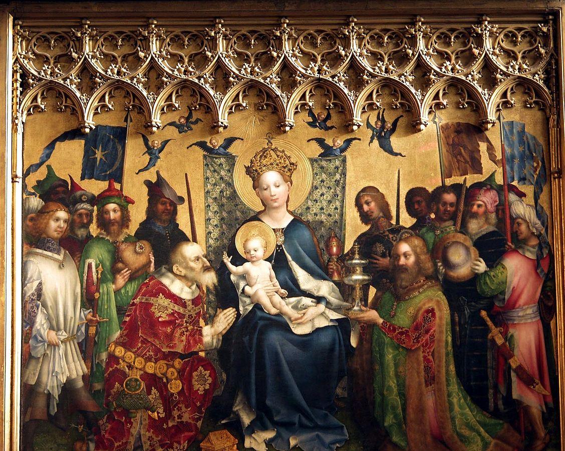 画像_シュテファン・ロホナー「聖母子と東方三博士の礼拝」