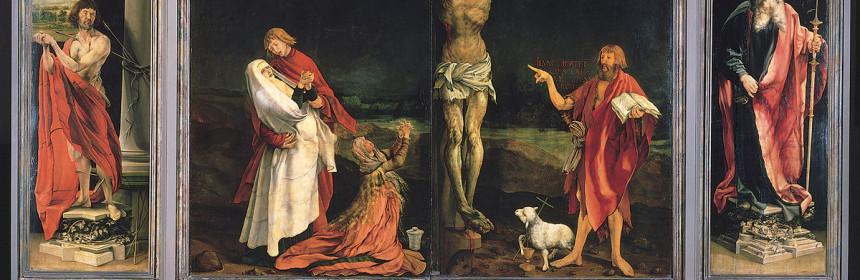画像_マティアス・グリューネヴァルト「イーゼンハイム祭壇画(第1面)」
