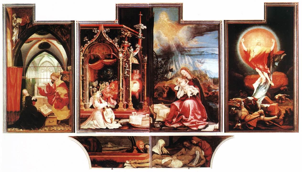 画像_マティアス・グリューネヴァルト「イーゼンハイム祭壇画(第2面)」