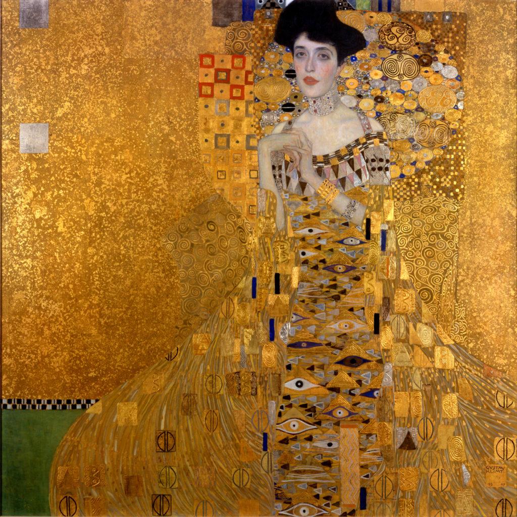 グスタフ・クリムト「アデーレ・ブロッホ=バウアーの肖像」
