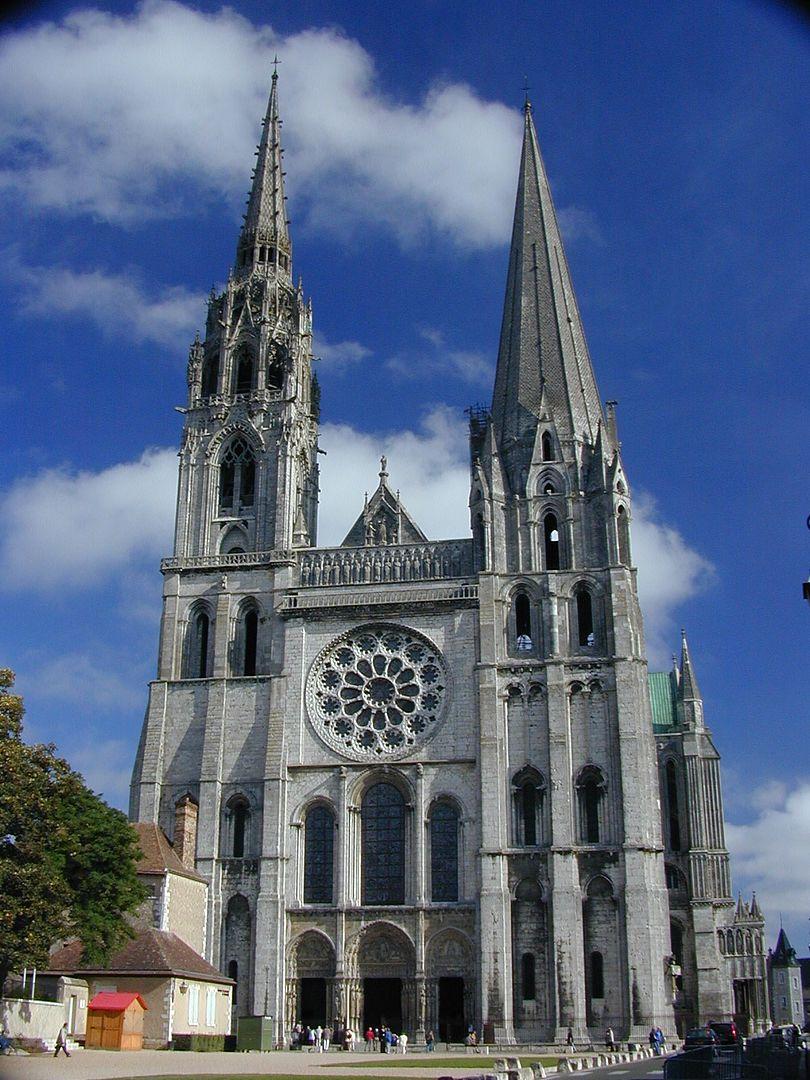 シャルトル大聖堂の画像