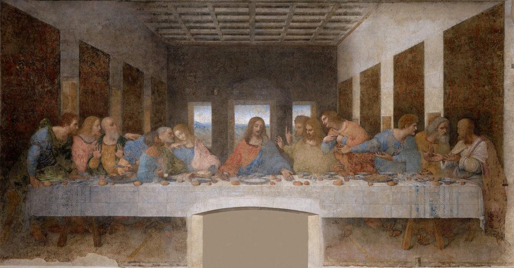 レオナルド・ダ・ヴィンチ「最後の晩餐」の画像