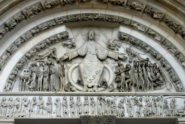 サント=マドレーヌ大聖堂のティンパヌムの画像