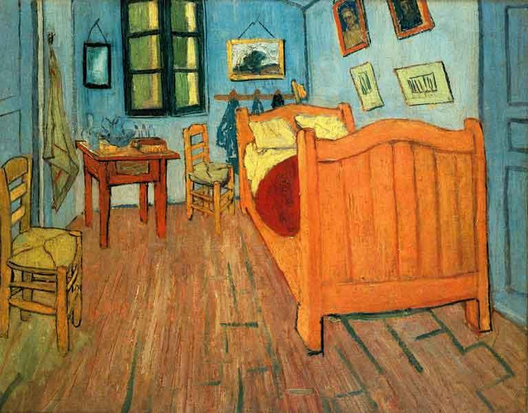 浮世絵とゴッホの作品を比較した画像