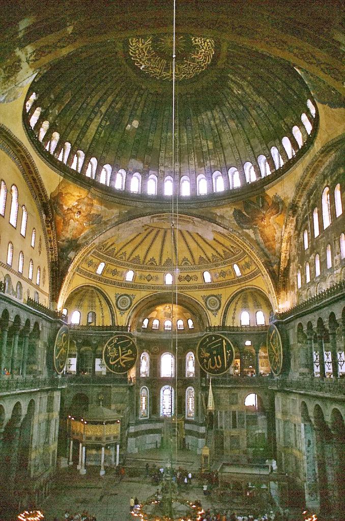 アヤソフィア(ハギア・ソフィア大聖堂)(内部)の画像
