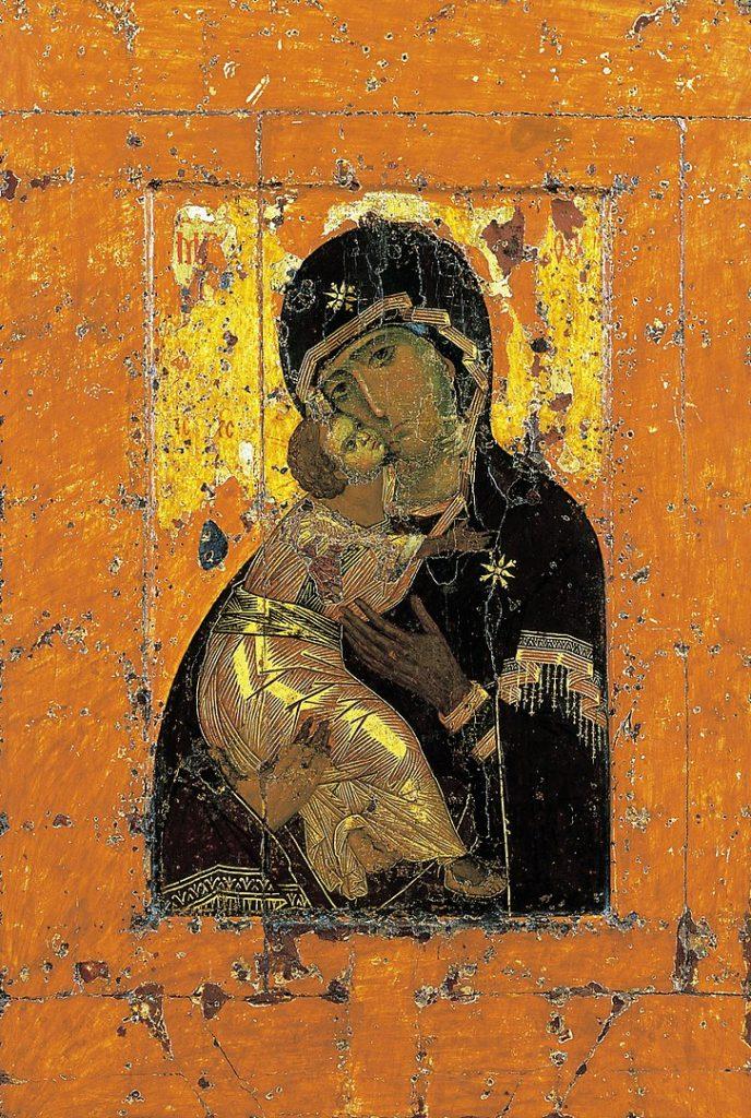 ウラジーミルの生神女の画像
