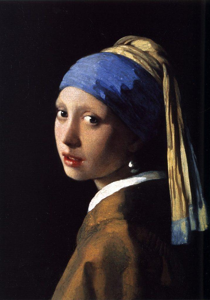ヨハネス・フェルメール「真珠の耳飾りの少女(青いターバンの少女)」の画像