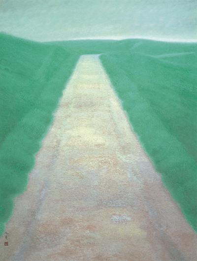 東山魁夷「道」の画像