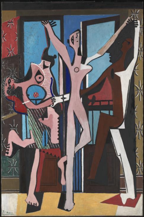 パブロ・ピカソ「三人の踊り子」