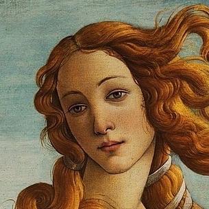 サンドロ・ボッティチェリ「ヴィーナスの誕生」の部分-2