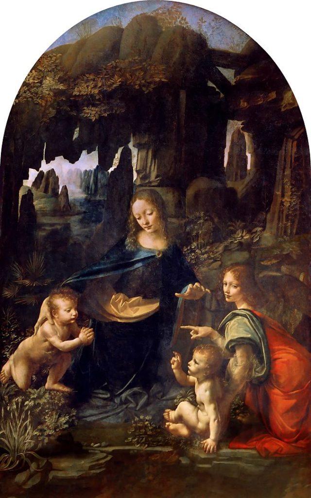 レオナルド・ダ・ヴィンチ「岩窟の聖母」