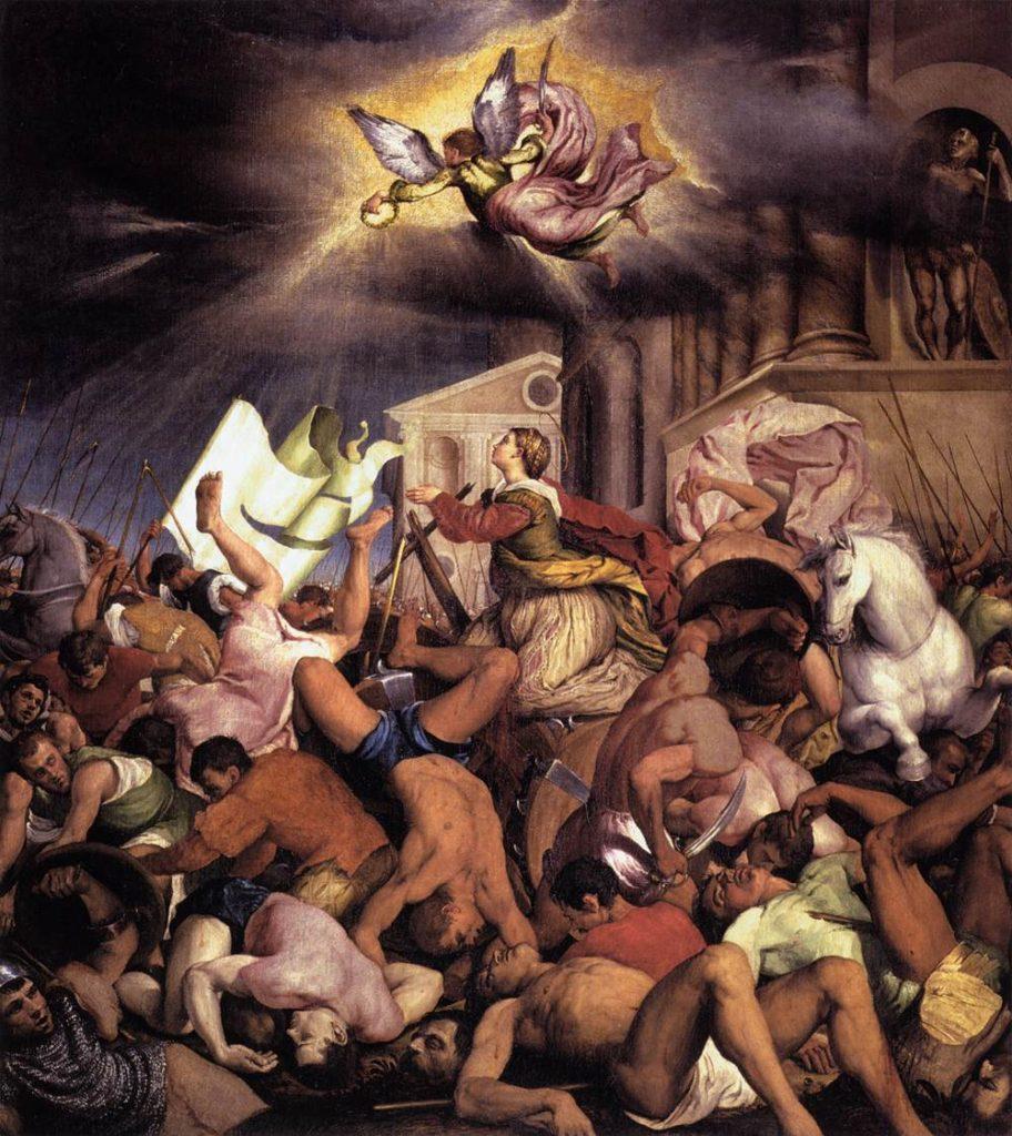 ヤコポ・バッサーノ「聖カタリナの殉教」