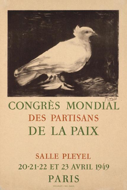 第一回平和擁護世界大会のポスター画像