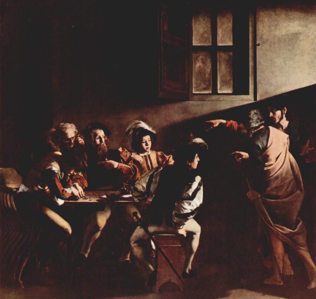 ミケランジェロ・メリージ・ダ・カラヴァッジョ「聖マタイの召命」