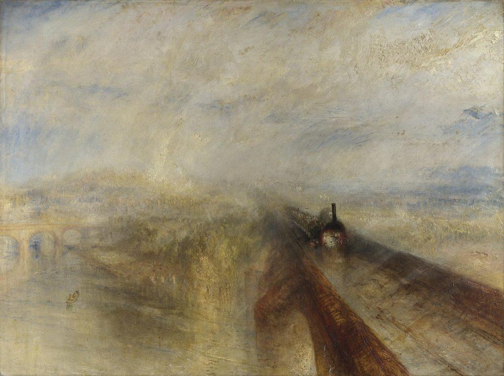 ジョゼフ・マロード・ウィリアム・ターナー「雨、蒸気、速度――グレート・ウェスタン鉄道」