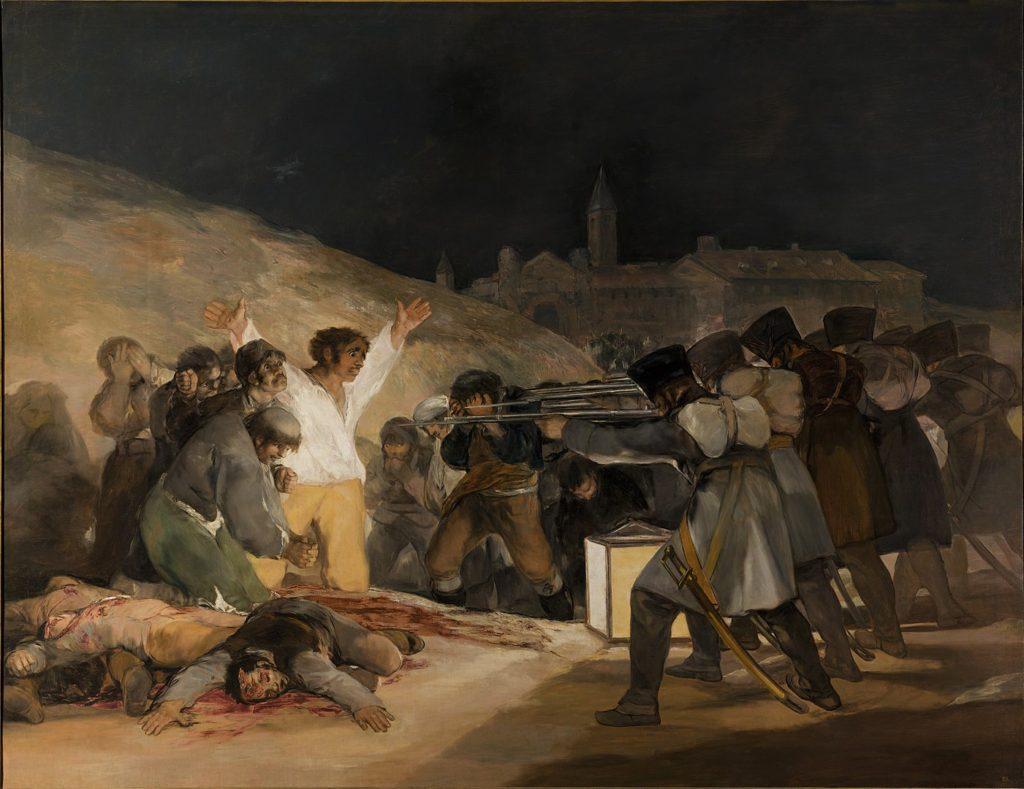 フランシスコ・デ・ゴヤ「マドリード、1808年5月3日」