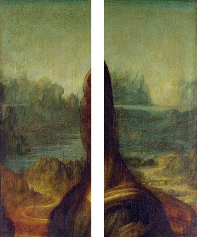 モナ・リザの背景画像