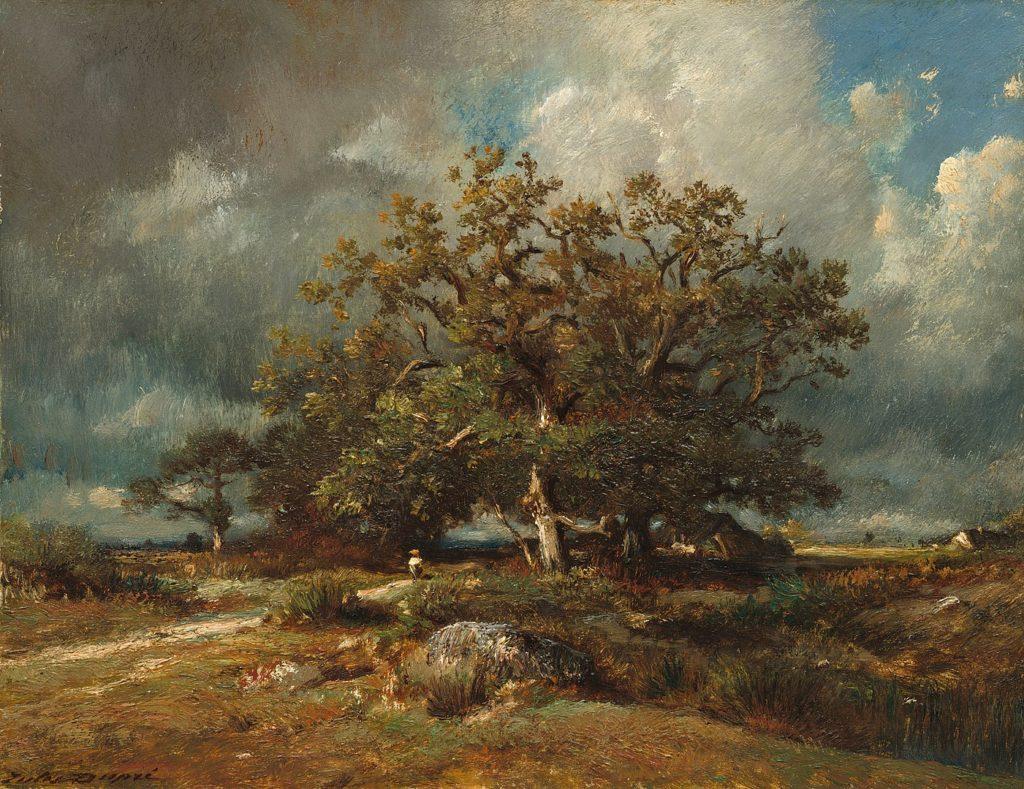 ジュール・デュプレ「カシの老木」