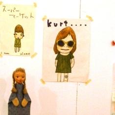 奈良美智が描いたカート・コバーン