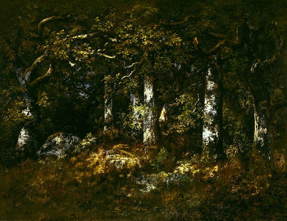 ナルシス・ディアズ・ド・ラ・ペーニャ「フォンテーヌブローの森」