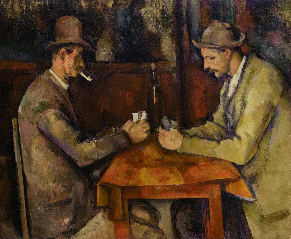 ポール・セザンヌ「カード遊びをする人々」