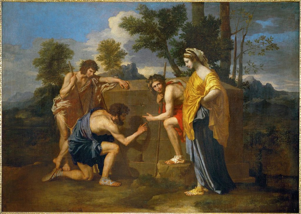 ニコラ・プッサン「アルカディアの牧人たち」