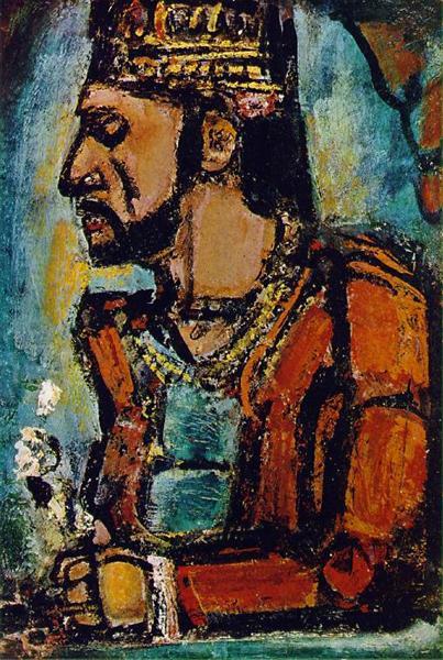ジョルジュ・ルオー「旧王」