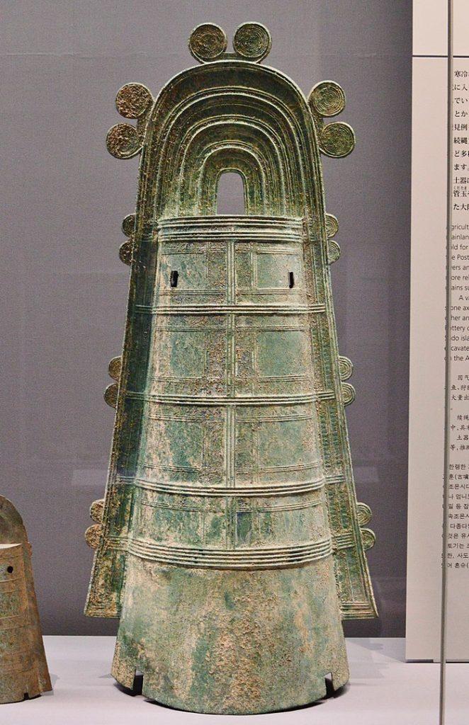 最大の銅鐸
