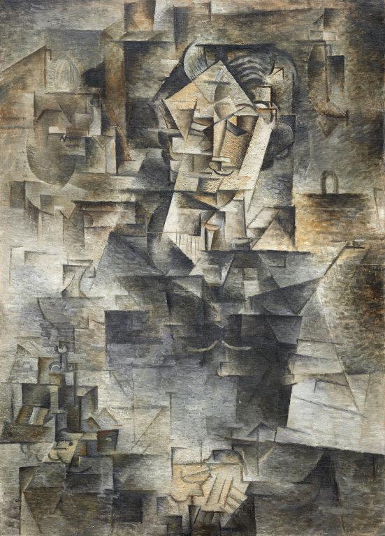 パブロ・ピカソ「ダニエル=ヘンリー・カーンワイラーの肖像」