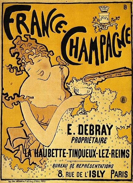 ピエール・ボナール「フランス=シャンパーニュ」